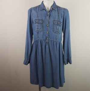 American Eagle Outfitters Denim T-Shirt Dress(M)